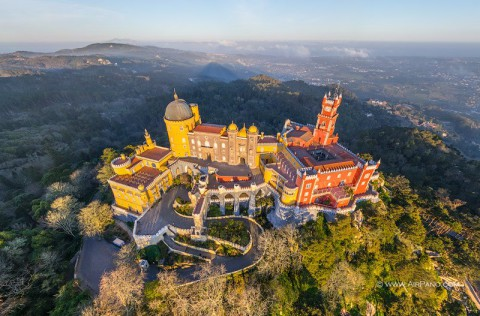Pena Palace in Sintra 辛特拉的佩納宮