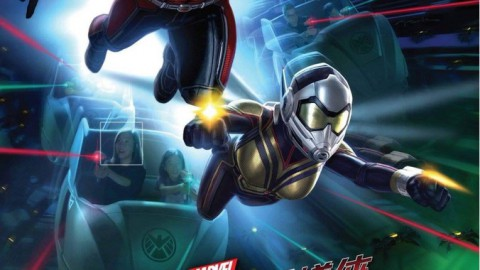 First Videos of Ant-Man and The Wasp: Nano Battle! Now in Soft-Opening at Hong Kong Disneyland /Ant-Man和The Wasp的第一個視頻:Nano Battle! 現在在香港迪士尼樂園開幕