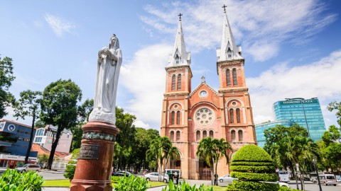 Notre-Dame Cathedral Basilica of Saigon 西貢巴黎圣母院大教堂