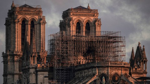 This week, Notre-Dame Cathedral went up in flames 本週,巴黎圣母院大火升起
