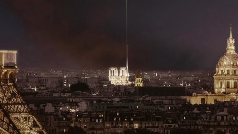 This week, designers began proposing ideas for Notre-Dame's restoration 本週,設計師們開始為Notre-Dame的修復提出建議