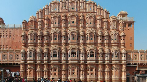 Hawa Mahal Palace of the Winds 哈瓦瑪哈爾風之宮