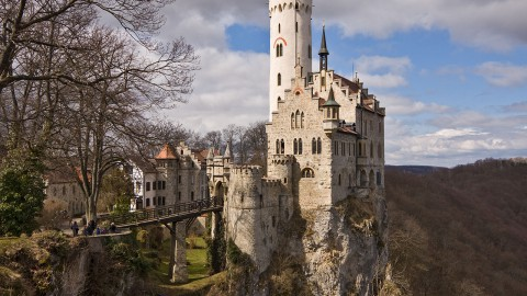 Lichtenstein Castle 利希滕斯坦城堡