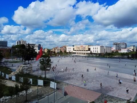 Skanderbeg Square 斯坎德培廣場