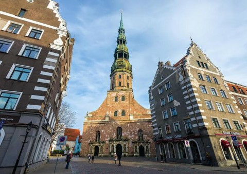 St. Peter's Church, Riga 裡加聖彼得教堂