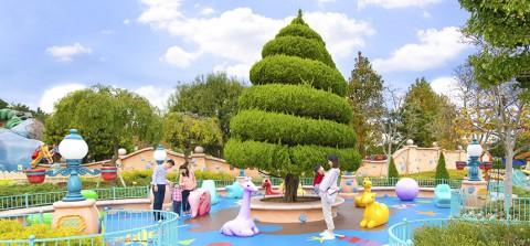 Tokyo disney-Toon Park 東京迪士尼-卡通公園