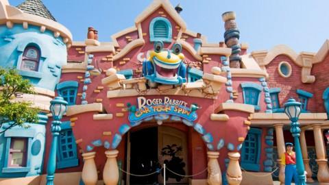 Tokyo Disney – Roger Rabbit's Car Toon Spin 東京迪士尼-羅傑兔子的汽車香椿旋轉