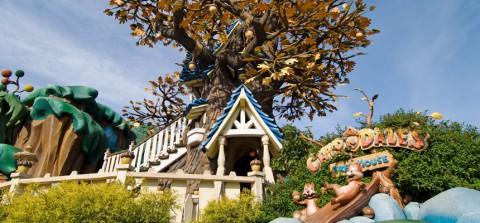 Tokyo disney-Chip'n Dale's Treehouse 東京迪士尼-奇奇帝帝橡樹屋