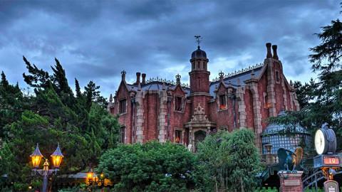 Tokyo disney- Haunted Mansion 東京迪士尼-幽靈公館