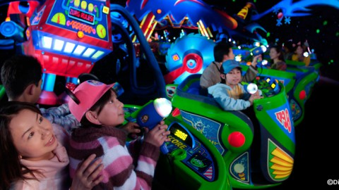 Tokyo Disney-Buzz Lightyear's Astro Blasters 東京迪士尼-巴斯光年星際歷險