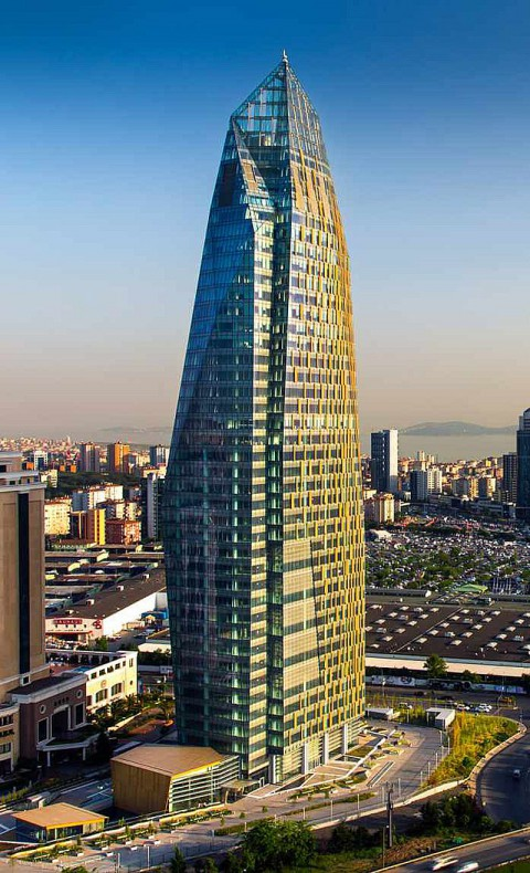 Allianz Tower,Istanbul, Turkey 安聯塔,伊斯坦布爾,土耳其