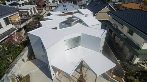 House in Hokusetsu by Tato Architects is designed as a labyrinth|Hokusetsu的房子由Tato Architects設計為迷宮