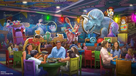 First Toy Story Land Expansion Announced for Disney's Hollywood Studios 迪士尼好萊塢電影公司宣布推出首個玩具總動員土地擴建計劃