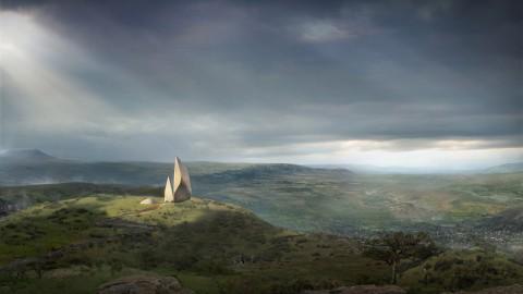 Studio Libeskind's Ngaren museum to track human evolution in Kenyan landscape|Studio Libeskind的Ngaren博物館,用於追踪肯尼亞景觀中的人類進化