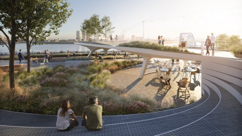 Diller Scofidio + Renfro creating new five-kilometre-long park in London's Greenwich|Diller Scofidio + Renfro在倫敦格林威治創建了一個新的五公里長的公園