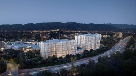 Frank Gehry designs iceberg-like headquarters for Warner Bros |弗蘭克蓋里為華納兄弟設計了類似冰山的總部