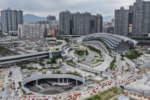 Hong Kong West Kowloon Station 香港西九龍站