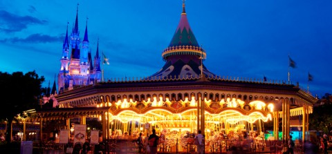 Tokyo Disney-Castle Carrousel 東京迪士尼-城堡旋轉木馬