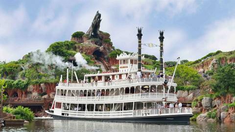 Tokyo Disney-Mark Twain Riverboat 東京迪士尼-豪華馬克吐溫號