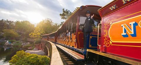Tokyo Disney-Western River Railroad 東京迪士尼- 西部沿河鐵路