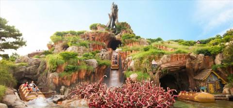 Tokyo Disney-Splash Mountain 東京迪士尼-飛濺山