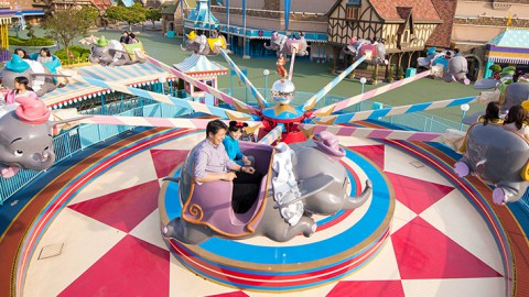 Tokyo disney-Dumbo The Flying Elephant 東京迪士尼-小飛象