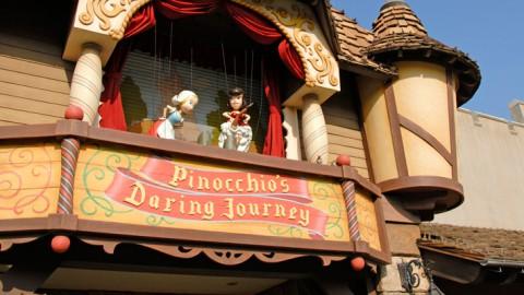 Tokyo disney-Pinocchio's Daring Journey 東京迪士尼-小木偶奇遇記