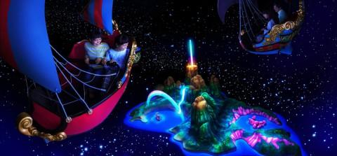 Tokyo disney-Peter Pan's Flight 東京迪士尼-小飛俠天空之旅