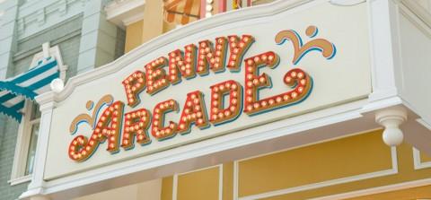Tokyo Disney-Penny Arcade 東京迪士尼-便士拱廊