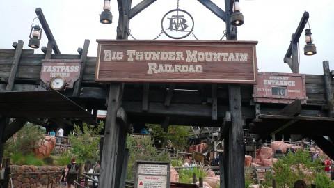 Tokyo Disney-Big Thunder Mountain 東京迪士尼-巨雷山