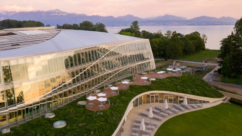 3XN builds new headquarters for the Olympics on shore of Lake Geneva|3XN在日內瓦湖畔建立奧運會新總部