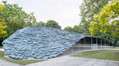 Junya Ishigami unveils rocky Serpentine Pavilion made out of slate Junya Ishigami推出了由石板製成的岩石蛇形亭