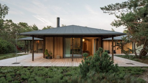 Johan Sundberg builds Swedish holiday home that takes cues from Japanese architecture|Johan Sundberg建造瑞典度假屋,從日本建築中汲取靈感