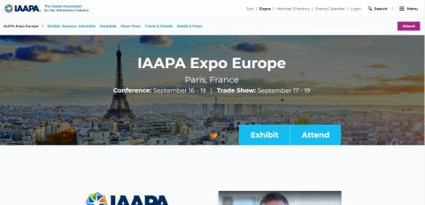 2019 IAAPA Expo Europe