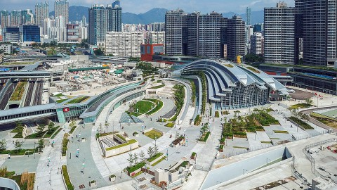 Hong Kong West Kowloon railway station 香港西九龍火車站
