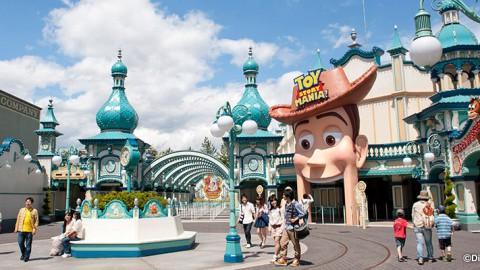 Tokyo Disney-Toy Story Mania! 東京迪士尼-玩具總動員瘋狂遊戲屋