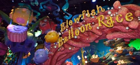 Tokyo Disney-Blowfish Balloon Race 東京迪士尼-河豚氣球競賽
