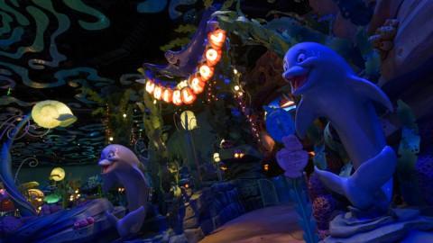 Tokyo Disney-The Whirlpool 東京迪士尼-旋轉海藻杯