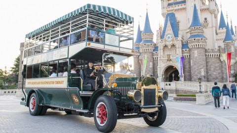 Tokyo Disney-Omnibus 東京迪士尼-雙層巴士