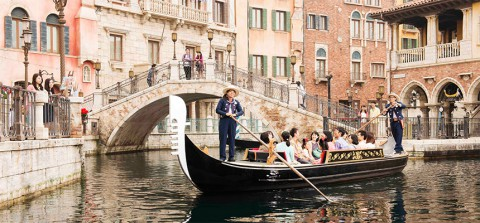 Tokyo Disney-Venetian Gondolas 東京迪士尼-威尼斯貢多拉遊船