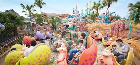 Tokyo Disney-Scuttle's Scooters 東京迪士尼-史卡托的寄居蟹