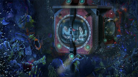 Tokyo Disney-20,000 Leagues Under the Sea 東京迪士尼-海底兩萬哩