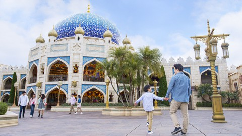 Tokyo Disney-Caravan Carousel 東京迪士尼-沙漠商隊旋轉木馬