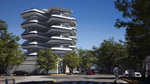 PZ Residential Building| PZ住宅樓