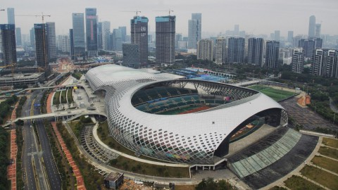 Shenzhen Bay Sports Center 深圳灣體育中心