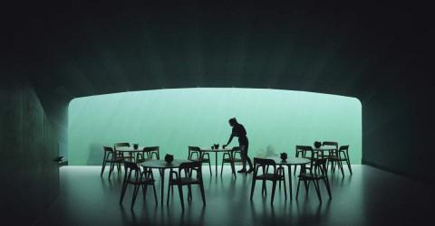 The world's largest underwater restaurant 世界上最大的水下餐廳