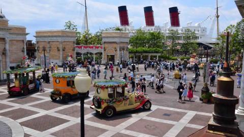 Tokyo Disney-Big City Vehicles 東京迪士尼-大都會交通工具