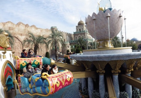 Tokyo Disney-Jasmine's Flying Carpets 東京迪士尼-茉莉公主的飛天魔毯