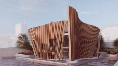 Daniel Libeskind unveils design for Maggie's Centre in London's Hampstead|Daniel Libeskind為倫敦漢普斯特德的瑪吉中心揭幕設計