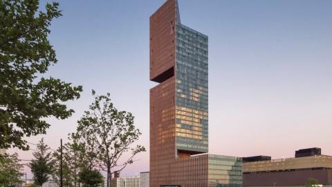 SOM completes double-cantilevered Manhattan Loft Gardens tower |SOM完成雙懸臂曼哈頓閣樓花園塔樓